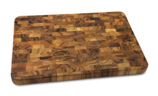 Cutlery and More End-Grain Acacia Cutting Board