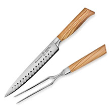 Messermeister Oliva Elite Hollow Edge Carving Set
