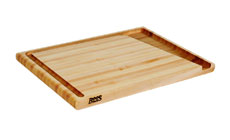 John Boos Maple Easy Drain Carving Board with Groove