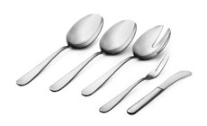 WMF Carlton Stainless Steel Hostess Set