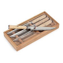 Miyabi Birchwood SG2 Steak Knife Set