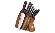 Wusthof Gourmet 7-piece Slim Knife Block Sets