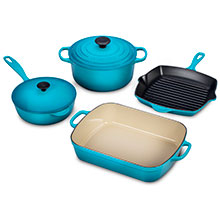 Le Creuset Signature Cast Iron 6-piece Cookware Sets