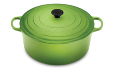 Le Creuset Signature Cast Iron 13¼-quart Round Dutch Ovens