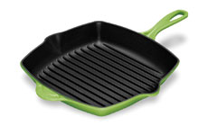 Le Creuset Cast Iron 10¼-inch Square Skillet Grills