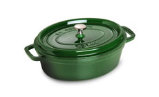 Staub 4-quart Shallow Oval Dutch Oven