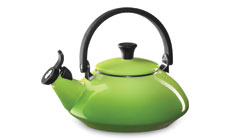 Le Creuset Enameled Steel 1.6-quart Zen Tea Kettle