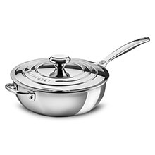 Le Creuset Stainless Steel Saucier