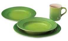 Le Creuset Stoneware Palm Dinnerware Sets