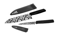 Kuhn Rikon Damask Nonstick Knife Set