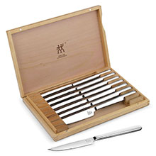 Zwilling J.A. Henckels Stainless Steel Steak Knife Set with Presentation Case