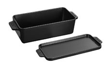 Staub 9 x 4½-inch Cast Iron Loaf Pans