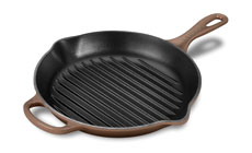 Le Creuset Signature Cast Iron 10¼-inch Round Skillet Grill Pan