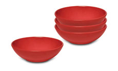 Emile Henry HR 4-piece Individual Salad Bowl Sets