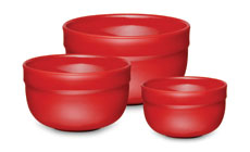 Emile Henry HR 3-piece Mixing Bowl Sets
