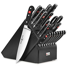 Wusthof Classic 20-piece Knife Block Sets with Forged Steak Knives