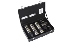 Peugeot u'Select Elis Stainless Steel Trio Rechargeable Electric Mill & Corkscrew Set