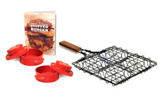 Charcoal Companion Stuff-A-Burger Set