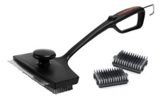 Charcoal Companion Mega Monster Double Grill Brush with Two Extra Replacement Heads