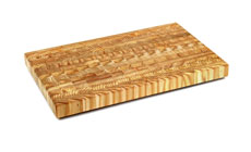 Larch Wood End Grain Cutting Boards