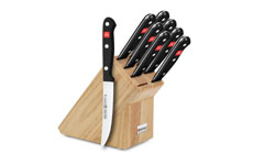 Wusthof Gourmet 9-piece Deluxe Steak Knife Block Sets