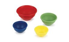 Le Creuset 4-piece Silicone Prep Bowl Set
