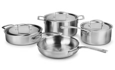 Zwilling J.A. Henckels Aurora Stainless Steel Cookware Set