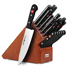 Wusthof Gourmet 18-piece Knife Block Sets