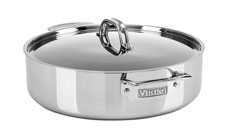 Viking 3-ply Stainless Steel Casserole