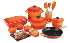Le Creuset Signature Cast Iron 20-piece Cookware Sets