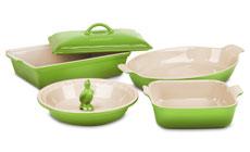 Le Creuset Stoneware 6-piece Heritage Bakeware Set
