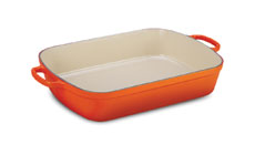 Le Creuset Signature Cast Iron 11½ x 8-inch Rectangular Roasters