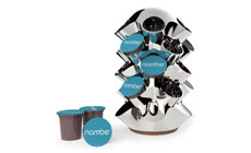 Nambe Ridge Stainless Steel Coffee Pod Carousel
