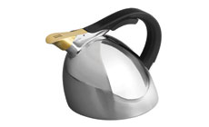 Nambe Chirp Stainless Steel Tea Kettle