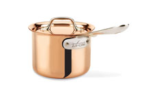 All-Clad c2 Copper Clad Saucepan