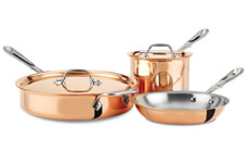 All-Clad c2 Copper Clad Cookware Set