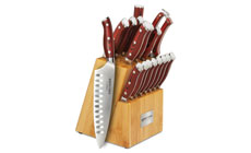 Ergo Chef Crimson Series Knife Block Set