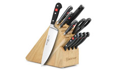 Wusthof Classic 11-piece Knife Block Sets with Stamped Steak Knives
