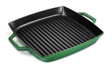 Staub 13-inch Square Double Handle Grill Pan