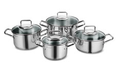 WMF Trend Stainless Steel Cookware Set
