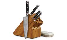 Mcusta Zanmai Classic 6-piece Knife Block Sets