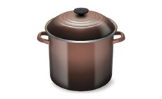 Le Creuset Enameled Steel 10-quart Stock Pot
