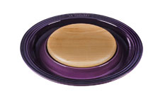 Le Creuset Stoneware  Serving Platter with Cutting Board Insert