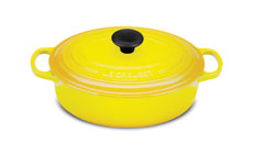 Le Creuset Signature Cast Iron 3½-quart Oval Wide Dutch Oven