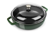 Staub 4-quart Universal Pans with Domed Glass Lid