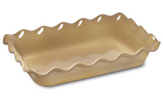 Emile Henry HR 14 x 10-inch Ruffled Rectangular Baking Dishes