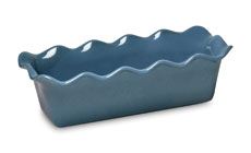 Emile Henry HR 12½ x 6-inch Ruffled Loaf Pans
