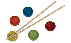 Le Creuset Stoneware 5-piece Chopstick Rest Set