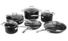 Le Creuset Forged Hard Anodized Nonstick Cookware Set