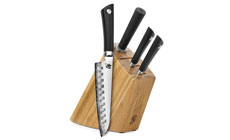 Shun Sora Slim Knife Block Set